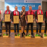 Frankfurt (Oder), 13.10.2018 - Konzerthalle - Meisterfeier